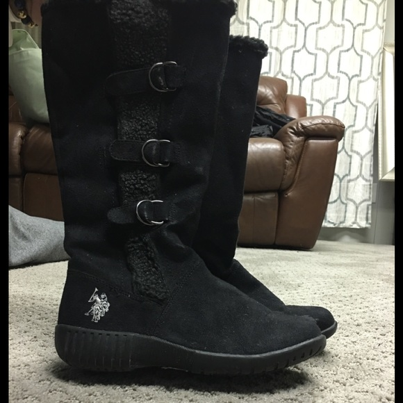 98c82c775572 polo snow boots women